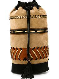 декорированный рюкзак с лоскутным узором Alberta Ferretti