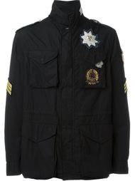 militar detail field jacket Amen