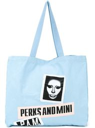 'Banner' tote bag Pam Perks And Mini