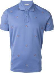 logo embellished polo shirt Moncler