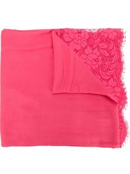 шарф с кружевными панелями Valentino