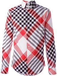 рубашка в клетку с воротником-стойкой Vivienne Westwood Man