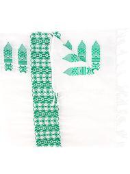 шарф с вышивкой Forte Forte