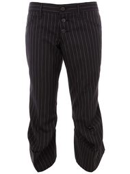 striped cropped trousers Christopher Nemeth