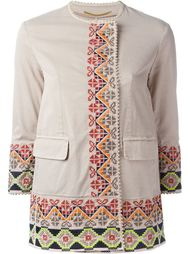 embroidered coat Bazar Deluxe