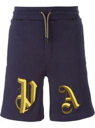 спортивные шорты с вышивкой Palm Angels