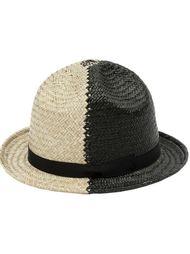 двухцветная шляпа Ca4la