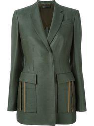 fitted waist blazer Versace