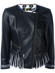 fringed biker jacket Bazar Deluxe