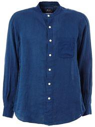 рубашка с воротником-стойкой  Blue Blue Japan