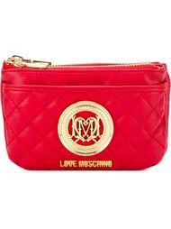 стеганый кошелек с застежкой-молнией Love Moschino