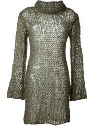 платье рыхлой вязки Junya Watanabe Comme Des Garçons Vintage