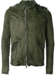 off-centre zipped jacket Giorgio Brato