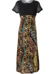 платье с короткими рукавами Kansai Yamamoto Vintage