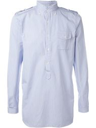 striped shirt Wooster + Lardini