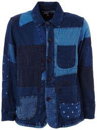 джинсовый жакет в стиле пэчворк  Blue Blue Japan
