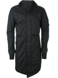 пальто с закругленным подолом и капюшоном 11 By Boris Bidjan Saberi