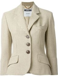 пиджак в горох Moschino Vintage