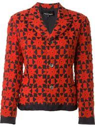 пиджак с вышивкой Comme Des Garçons Vintage