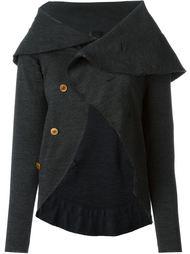 пиджак-кейп с закругленным подолом Comme Des Garçons Vintage