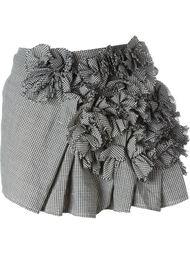 мини-юбка с рюшами Comme Des Garçons Vintage