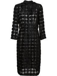 прозрачное платье с узором в горох Comme Des Garçons Vintage
