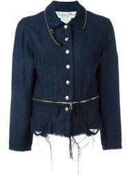пиджак с потертой отделкой Christian Dior Vintage