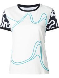 all-over print T-shirt J.W. Anderson