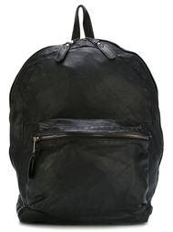 фактурный кожаный рюкзак Giorgio Brato
