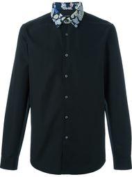рубашка с контрастным воротником Jil Sander