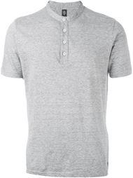футболка-поло без воротника Eleventy