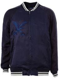 куртка-бомбер с вышивкой Blue Blue Japan