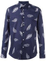 рубашка с принтом перьев PS Paul Smith
