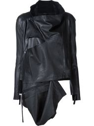 draped asymmetric jacket  Barbara I Gongini