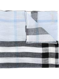 полосатый шарф Burberry