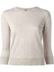 свитер с рукавами три четверти  Eleventy