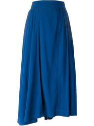 асимметричная плиссированная юбка Marni