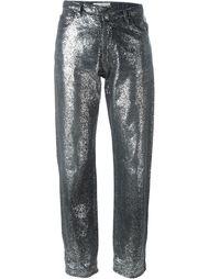джинсы с блестками Golden Goose Deluxe Brand
