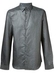 metallic effect shirt PS Paul Smith