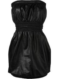 платье без бретелек  Fendi