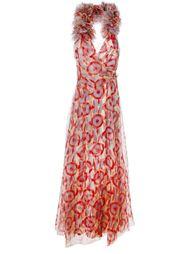 вечернее платье с геометрическим принтом Marc Jacobs