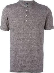 футболка на пуговицах Eleventy
