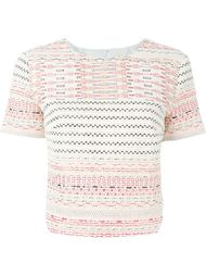embroidered top Miahatami
