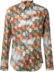 рубашка с абстрактным принтом PS Paul Smith