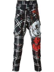 брюки с принтом  Faith Connexion