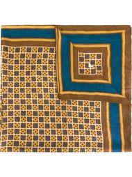 платок с геометрическим принтом Yves Saint Laurent Vintage