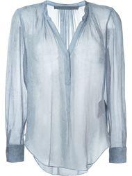 прозрачная блузка  Raquel Allegra