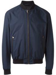 куртка-бомбер с принтом на спине Salvatore Ferragamo