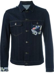 джинсовая куртка с цифровым принтом Jil Sander