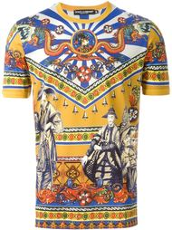 футболка с принтом 'Chinese' Dolce & Gabbana
